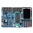 "HC6800 51 Microcontroller Development Board w/ 2.1"" Color Touch Screen - Deep Blue"