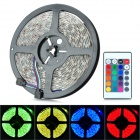 ZnDiy-BRY Z-020 60W 600lm 300-SMD 5050 LED RGB Light Strip w/ Controller (DC 12V / EU Plug)