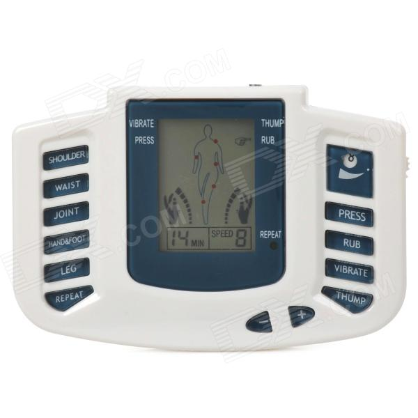 Фото JR-309A Electrical Stimulator Full Body Relax Muscle Therapy Massager for Home Use - White + Blue