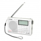 "Tecsun PL-310ET 2.1"" LCD Full Band Digital Stereo Radio - Silver (3 x AA)"