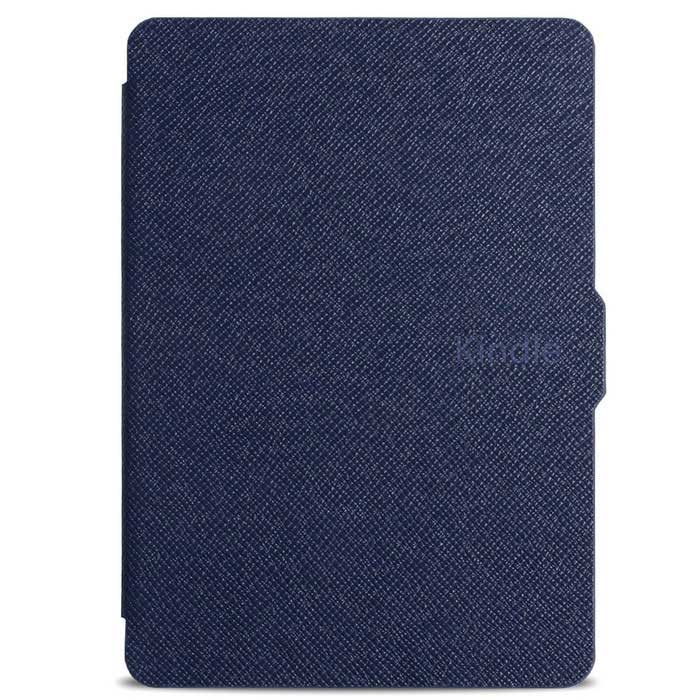Ultrathin Protective PU Leather Case w/ Auto Sleep for Kindle Paperwhite - Deep Blue cartoon painted flower owl for kindle paperwhite 1 2 3 case flip bracket stand pu cover for amazon kindle paperwhite 1 2 3 case