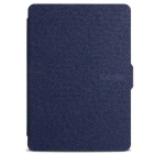 Ultrathin Protective PU Leather Case w/ Auto Sleep for Kindle Paperwhite - Deep Blue