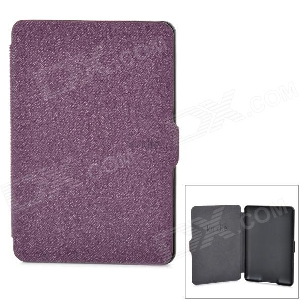 Ultrathin Protective PU Leather Case w/ Auto Sleep for Kindle Paperwhite - Purple матрас perrino антланс 80х195 см