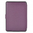 Ultrathin Protective PU Leather Case w/ Auto Sleep for Kindle Paperwhite - Purple