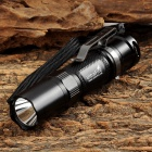 UltraFire V20 CREE XM-L2 U2 400lm 2-Mode White Flashlight - Black + Grey (1 x 14500)