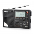 "TECSUN PL-310ET 2.1"" LCD Full Band Digital Stereo Radio - Black (3 x AA)"
