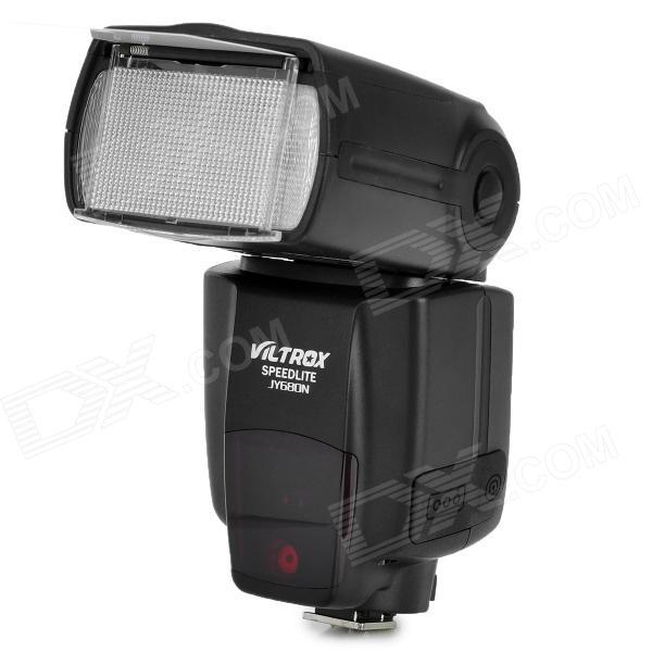 VILTROX JY680N flash Speed ​​lys for nikon DSLR-kamera - svart