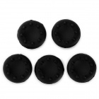 Silicone Cap Cover for XBOX 360 Controller + More - Black (5PCS)