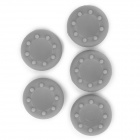 XBOX 360 / XBOX 360 Slim / XBOX One Game Controller Protection Silicone Cover - Grey (5 PCS)