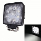 Platz 27W 6500K 2100lm 9-Epistar LED Work Light 25 Grad Punkt White Light Off-Road-Lampe - (9 ~ 32V)