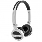 DAZA D600 Stereo Wireless Headphone MP3 Player w/ TF / FM Radio - Black + White