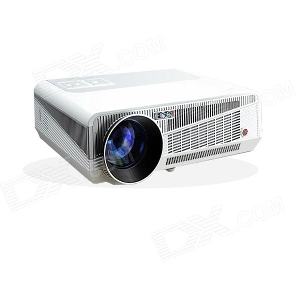 EPW58D 1280 x 800 HD Home Theater Android Projector w/ 2 x HDMI, 2 x USB, VGA, TV, AV, RJ45, SD