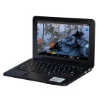 "HL-PC988 9.0"" LCD Android4.4.2 Netbook w/ LAN / HDMI / Camera / SD Card Slot - Black"