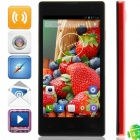 "HM1 MTK6572 Dual-Core Android 4.2.2 WCDMA Bar Phone w/ 4.7"" QHD, 4GB ROM, GPS - Black + Red"
