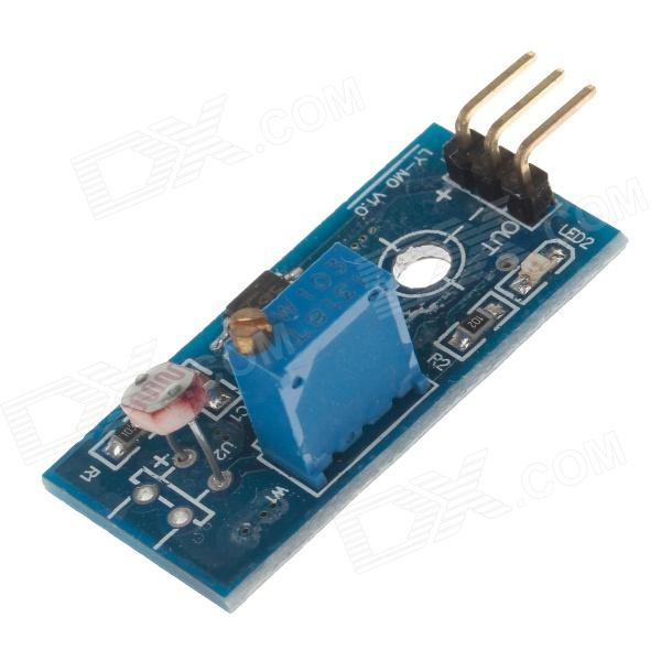 DOFLY Photosensitive Detection Switch Sensor Module - Blue dofly stm32f103c8t6 core board black blue