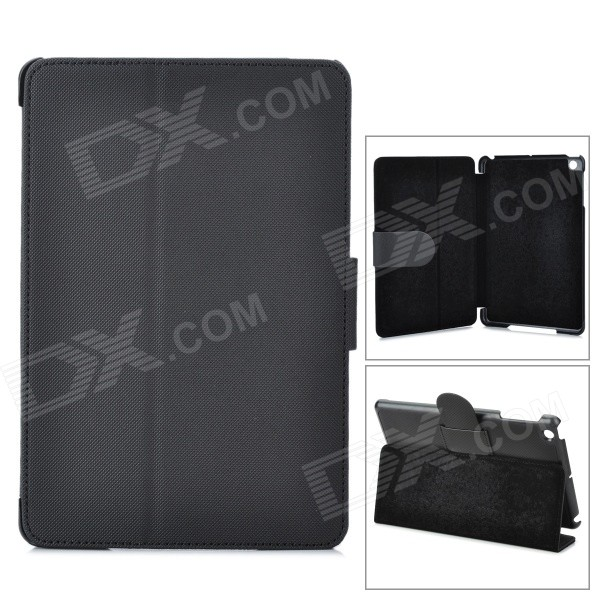 Angibabe Protective PU Leather Case Cover Stand w/ Auto Sleep for Retina Ipad MINI - Black