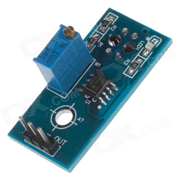 DOFLY 1-Channel Relay Module Circuit board Infrared Development Board - Blue 2pcs cf18 kt led flasher 8 pin adjustable relay module fix auto car signal error flashing blinker 81980 50030 06650 4650 150w