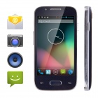 "HAPYTECH H3069 MTK6572 Android 4.2 Dual-Core WCDMA Bar Phone w/ 4.0"" Capacitive Screen, GPS - Black"
