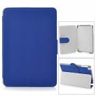 Angibabe Protective PU Leather Case Cover Stand w/ Auto Sleep for Retina Ipad MINI - Sapphire Blue