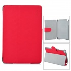 Angibabe Protective PU Leather Case Cover Stand w/ Auto Sleep for Retina Ipad MINI - Red