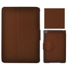 Angibabe Protective PU Leather Case Cover Stand w/ Auto Sleep for Retina Ipad MINI - Brown