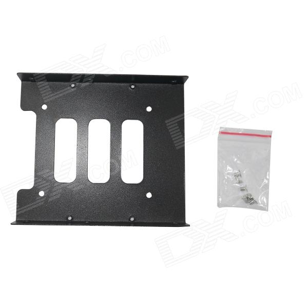 BZ YK 2.5 SSD to 3.5 SSD Mounting Adapter Bracket Dock - Black