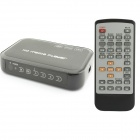 CS601 Full HD 1080P Media Player w/ HDMI / AV / VGA / YPbPr / USB / SD - Black