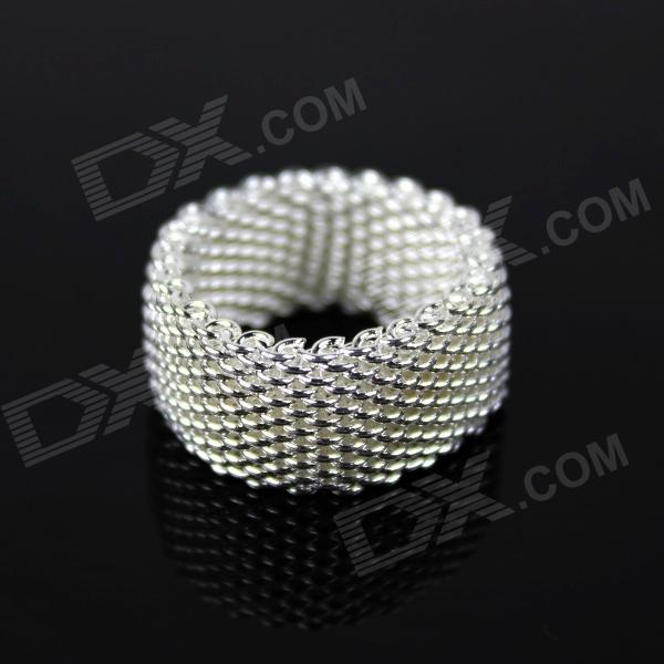 Ring 925 Silver Braid Ring