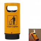 Trash Style High Quality Windproof Lighter - Yellow