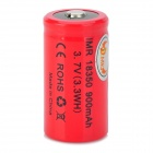 MKJ 18350 3.7V 900mAh 3.3WH Li-ion Battery w/ Plastic Case