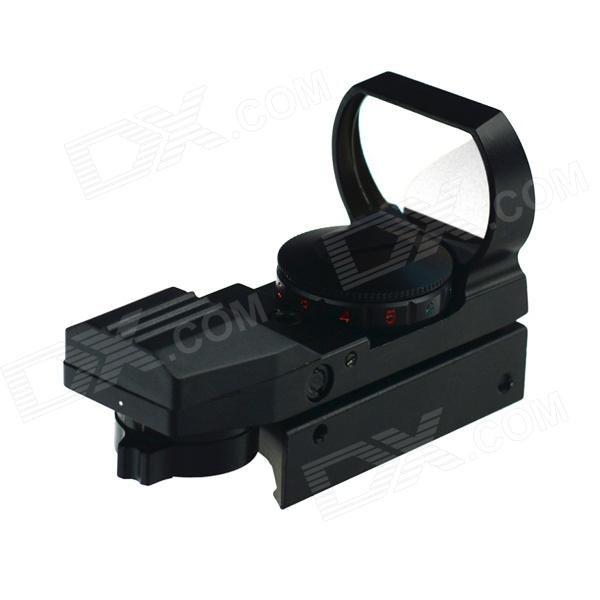 ACCU 1X 33mm 4-Mode Red / Green Dot Sight Rifle Scope with Wrench - Black (1 x CR2032)Gun Scopes &amp; Sights<br>Form  ColorBlackBrandACCUModelHD2MaterialAluminum alloyQuantity1 DX.PCM.Model.AttributeModel.UnitGun Type20mm rail gunMagnification1XObjective Diameter33mmLaser WavelengthNOLaser ColorOthersPacking List1 x Gun sight2 x Hex wrench1 x Cleaning cloth1 x CR2032 battery1 x English user manual<br>