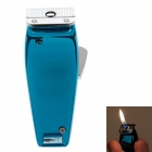 Creative Shaver Style Mini Windproof Metal lighters - Blue