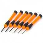 LODESTAR L107625 Precision Screwdriver Tool Set (6 PCS)