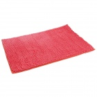 Anti-slip Water Absorption Soft Plush Bedroom Carpet Doormat - Reddish Orange (Size-L)