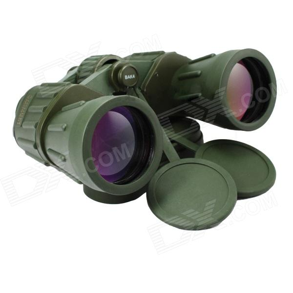 Seeker 10X50 Wide-angel Binocular - Army Green