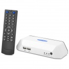 ZnDiy-BRY Mini 4-CH Home DVR w/ Remote Controller / SD / U Disk / Mobile HDD Slot