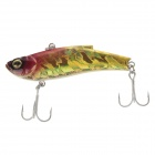 SHIHUN 5823 Lifelike Fish Style Fishing Bait - Gold + Red
