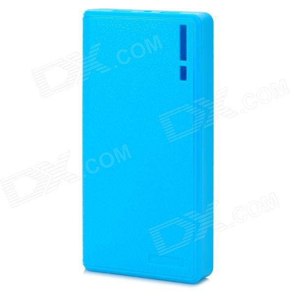 Wallet Style Mobile Power DIY 6-Section Plate Case Set - Blue (Software Version)
