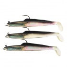 SHIHUN Lifelike Fish Style Fishing Bait - Blackish Green (3 PCS)