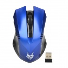 Buy Jiete 3233 2.4Ghz Wireless 1000/1600DPI Optical Mouse - Blue + Black