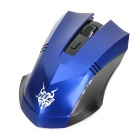 Jiete 3233 2.4Ghz wireless mouse óptico 1000 / 1600DPI - azul + preto