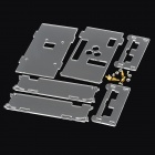 Acrylic DIY Assembling Case Plates for pcDuino / Arduino - Transparent