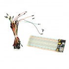 ZnDiy-BRY Z-069 MB102 Breadboard + Power Supply Module + 65 Jump Wires Kit for  DIY / Arduino