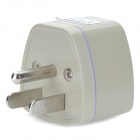 Universal US Travel Power Adapter Plug - White