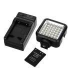 WanSen W36 4W 36-LED Video Camera Light for Canon / Nikon - Black