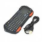 Seenda IS11-BT05 Mini Bluetooth V3.0 77-Key Keyboard w/ Touchpad - Orange + Black