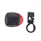 Solar Bicycle 2-LED Red Taillights w/ 2 Reflective Stickers