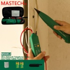 MS6812 Multifunctional Cable Tracker Tester - Verde + Marrón + Multicolor
