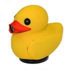 "Duck Shaped 1080P 1.5"" TFT 5.0 MP CMOS Car DVR Video Recorder / Mini USB / HDMI / TF Slot - Yellow"