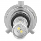 HJ HJ-H4-8W2323 H4 8W 800lm 6500K 6-SMD 2323 LED White Car Brake / Steering Light (10~30V)